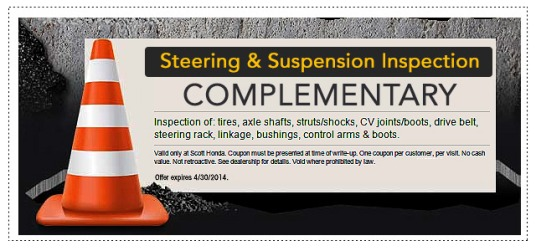 steering and suspension complementary